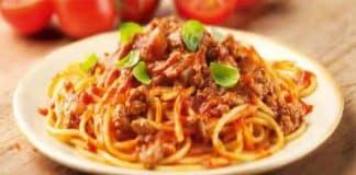 Spaghetti à la bolognaise avec cookeo