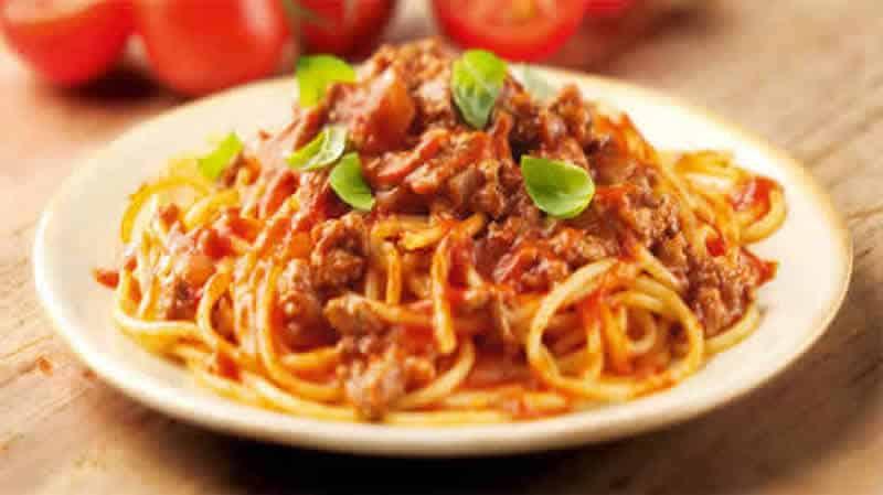 spaghetti bolognaise cookeo - un délicieux plat de pâtes.