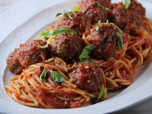 spaghetti aux boulettes de boeuf cookeo