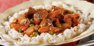 blanquette de veau aux carottes petits pois cookeo