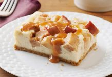 cheesecake aux pommes thermomix