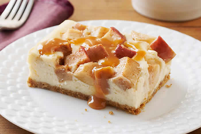 Cheese Cake Aux Pommes