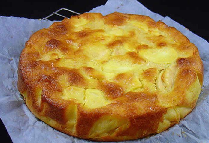 gateau aux pommes citron thermomix