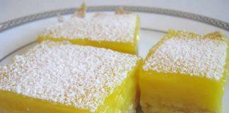 gateau carres citron thermomix