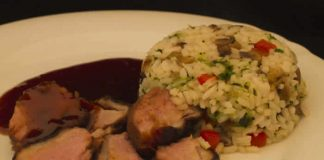 magret de canard risotto cookeo