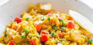 paella poulet facile cookeo