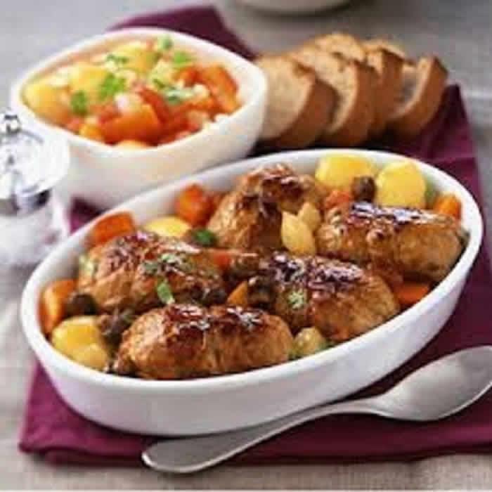 paupiettes boeuf pommes de terre cookeo votre plat. Black Bedroom Furniture Sets. Home Design Ideas