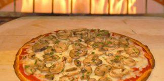 pizza aux champignons thermomix