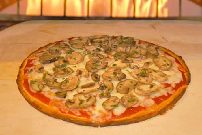 pizza aux champignons thermomix un d lice du thermomix. Black Bedroom Furniture Sets. Home Design Ideas