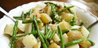 pommes de terre haricots verts cookeo