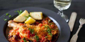 poulet saute aux olives cookeo