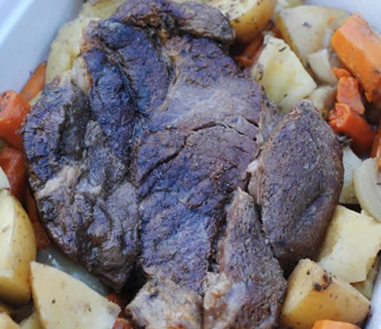 roti de veau aux carottes pommes de terre cookeo