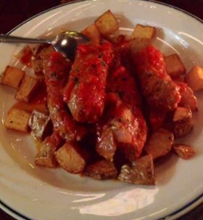 ragout saucisses pommes de terre tomate cookeo