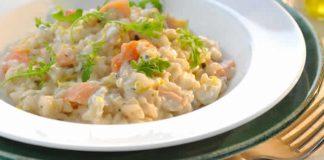 risotto saumon fume cookeo