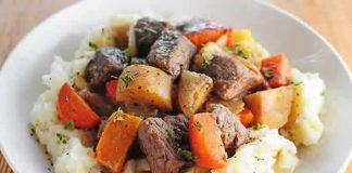 roti de boeuf aux legumes cookeo