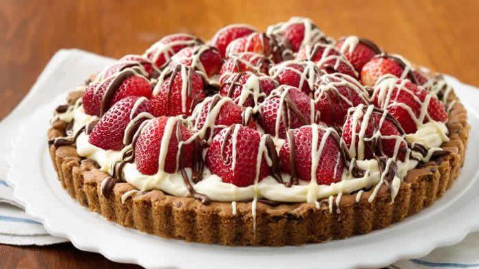 tarte chocolat blanc fraise thermomix
