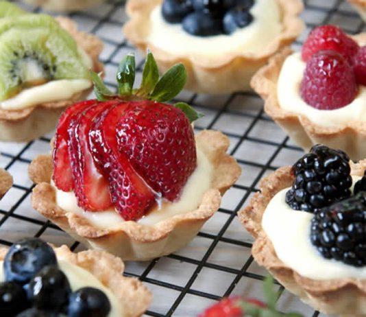 tartelettes aux fruits creme patissiere