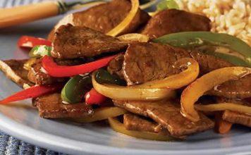 steak poivrons cookeo