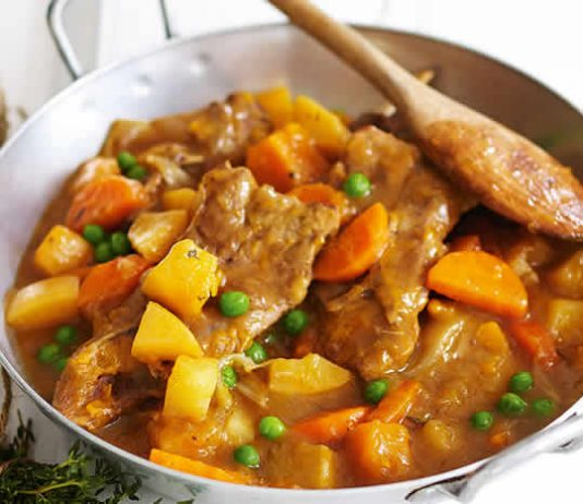 agneau aux legumes cookeo