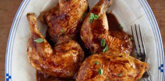 cuisses de poulet vin cookeo
