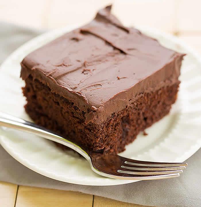 Rich Chocolate Sponge Cake
