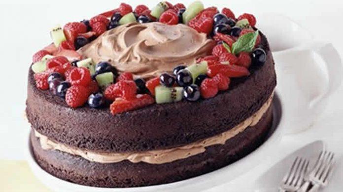 gateau chocolat creme fraise thermomix