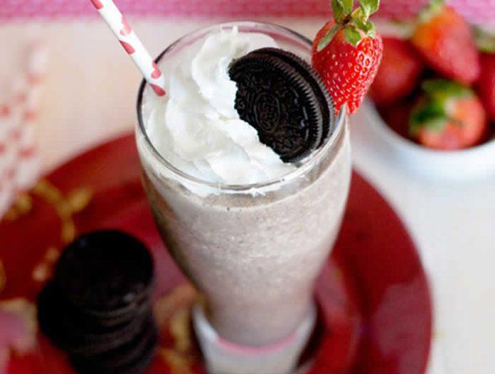 milkshake fraise thermomix