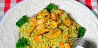 moules crevettes riz cookeo