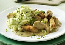 poulet aux champignons cookeo