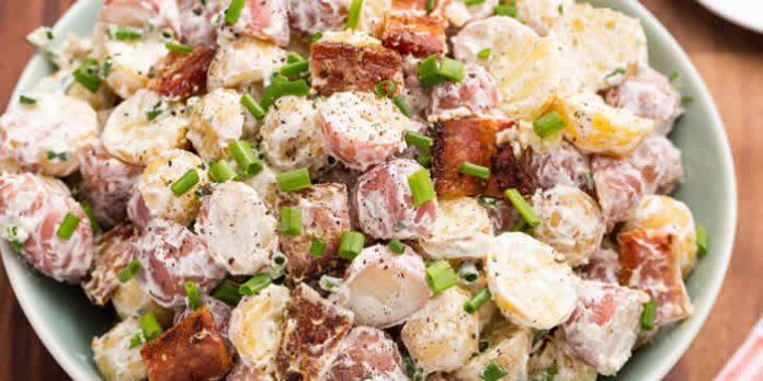salade pommes de terre lardon cookeo