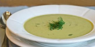 soupe courgette fromage cookeo