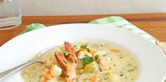 soupe fruit de mer cookeo