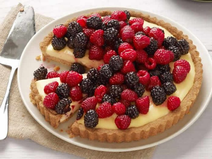 Tarte chocolat blanc fruits rouges thermomix une tarte irr sistible - Comment decorer une tarte au chocolat ...