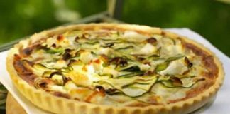tarte aux courgettes fromage thermomix