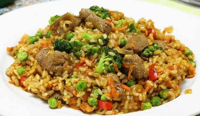 boeuf aux legumes riz cookeo