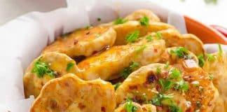 bouchees de poulet thai