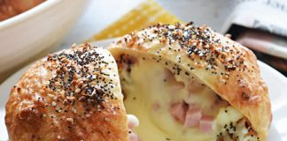 Buns jambon fromage thermomix