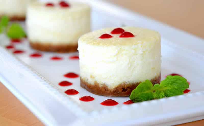 cheesecakes glaces orange cookeo - un délicieux dessert.