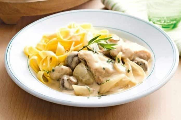 cuisses de poulet aux champignons cookeo