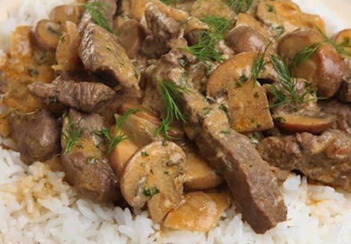 filet de boeuf aux champignons cookeo