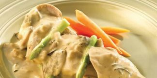 filet de poulet sauce boursin cookeo