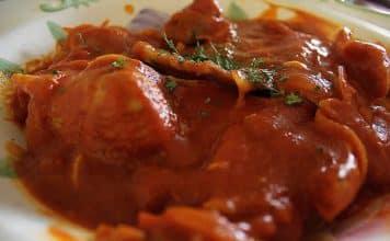 filets de porc sauce tomate cookeo