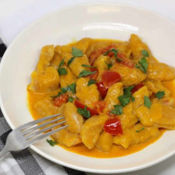 gnocchis curry cookeo