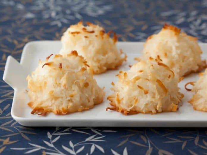 Macarons noix de coco