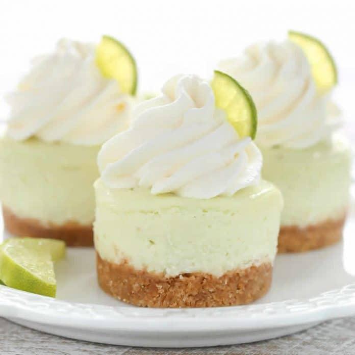 Mini cheesecakes citron thermomix