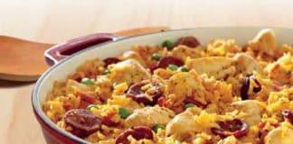 paella poulet saucisse cookeo