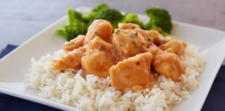 poulet orange riz