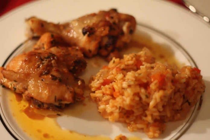 poulet riz cookeo