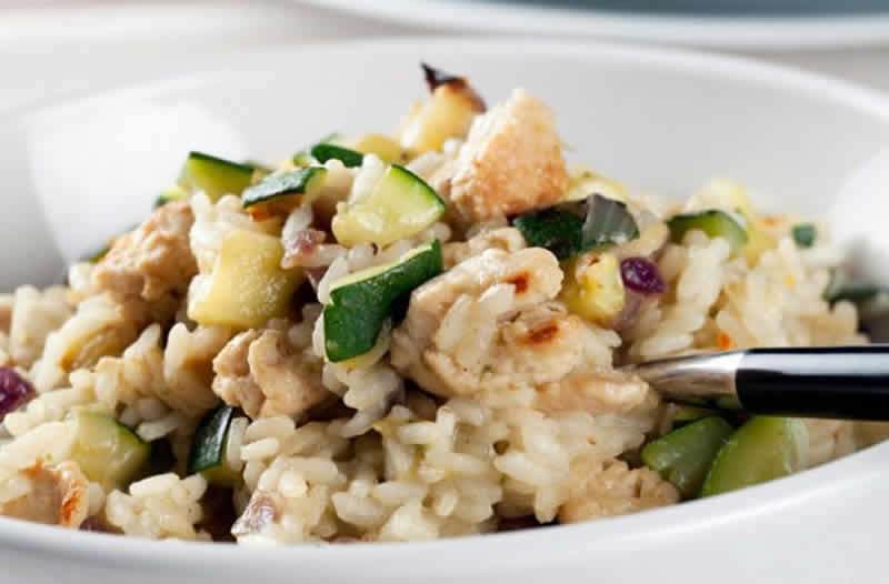 risotto de poulet courgettes cookeo pour les fans du. Black Bedroom Furniture Sets. Home Design Ideas