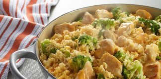riz poulet brocoli cookeo
